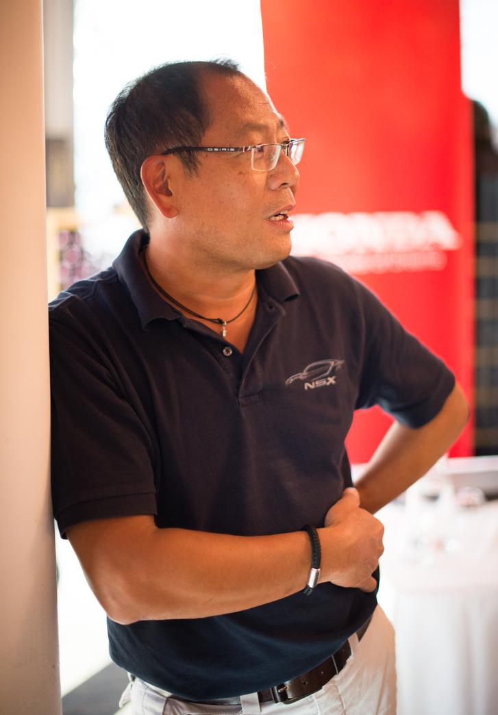 Yamamoto Kotaro mérnök, a Honda technológiai tanácsadója