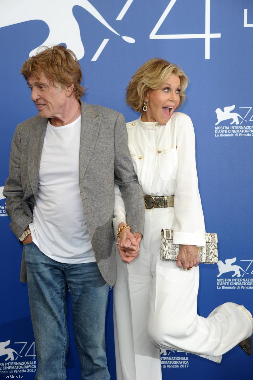 Jane Fonda se érti