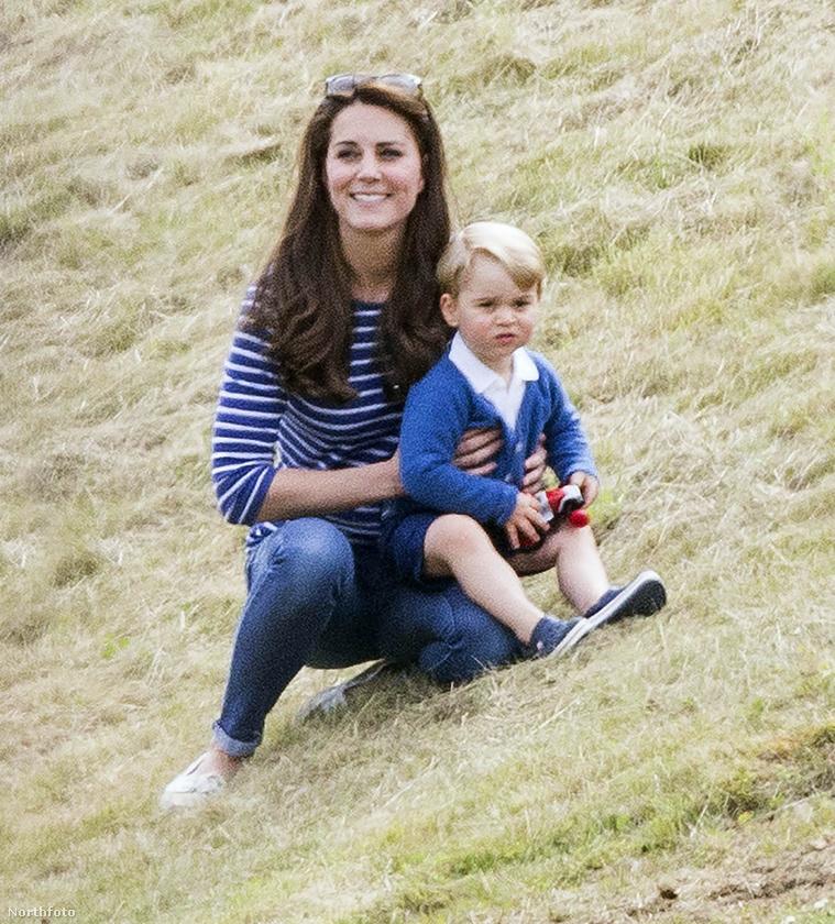 A szülők 2015-ben a Gigaset jótékonysági pólómeccsre csak György herceget vitték.