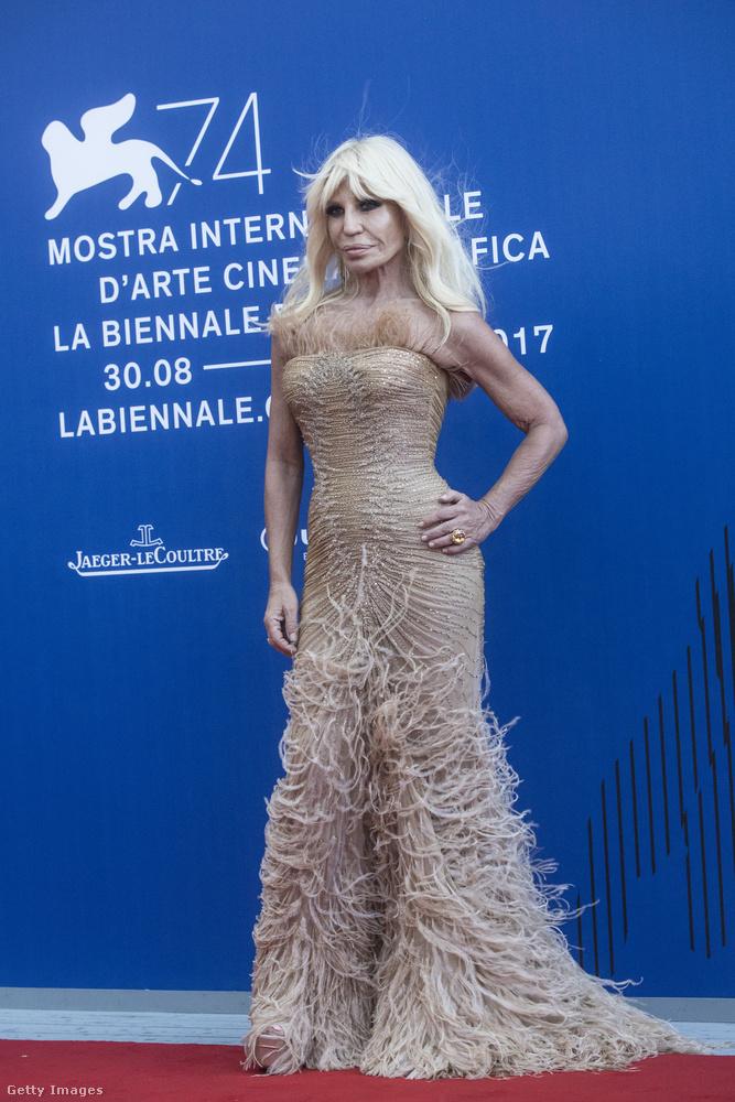 Donatella Versacének is volt egy jó pillanata,