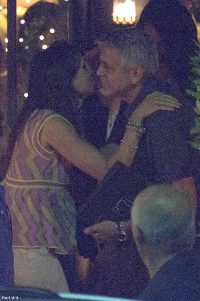Clooney-ék romantikusan megvacsoráztak?