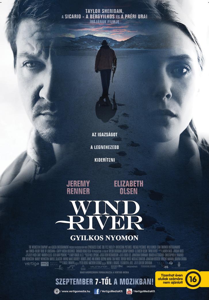 wind river gyilkos nyomon plakat