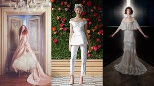 ff35169c30 Mutatjuk a 12 legtutibb menyasszonyi ruha trendet