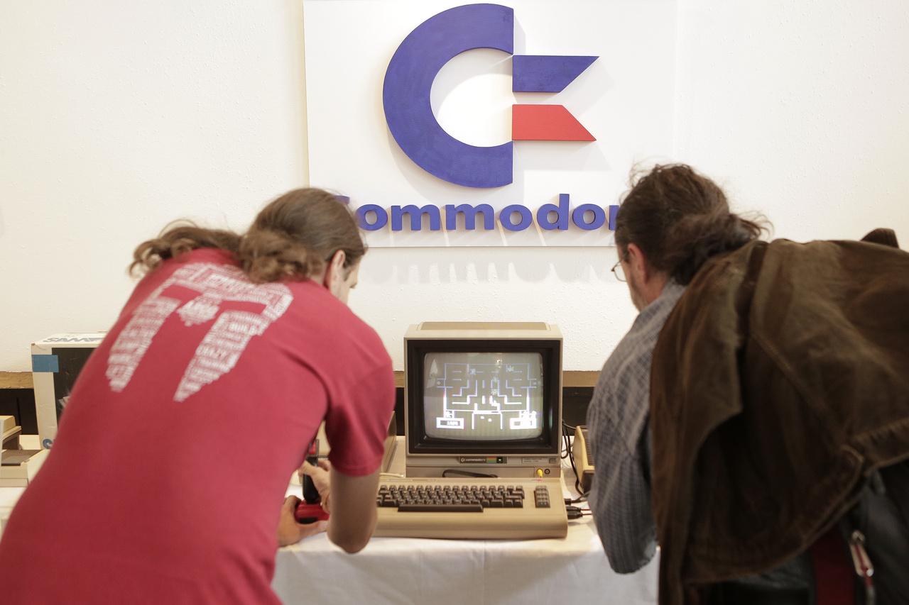 A ketten is játszható Wizard of Wor Commodore 64-en.