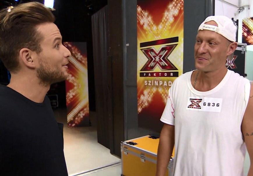 Mohaman 2016 októberében az X-Faktorban - az énekes a visszatérésre készült.