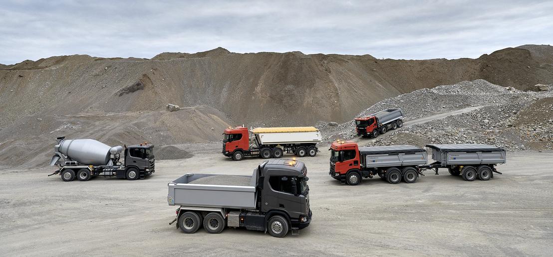A G és az XT sorozat egy svéd bányában