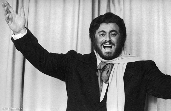 Luciano Pavarotti 1985-ben