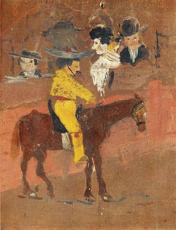 Pablo Picasso 9 évesen festette A pikadort (1890)