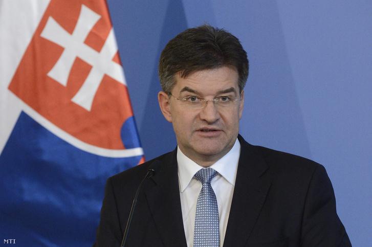 Miroslav Lajčák szlovák külügyminiszter