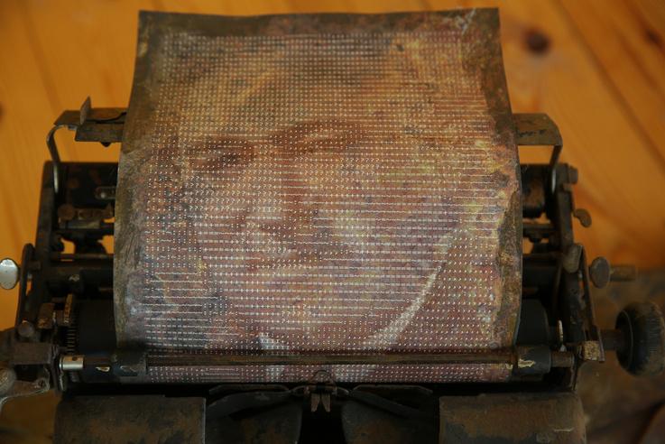 Rákosi Mátyás írógépe (Kentaur)