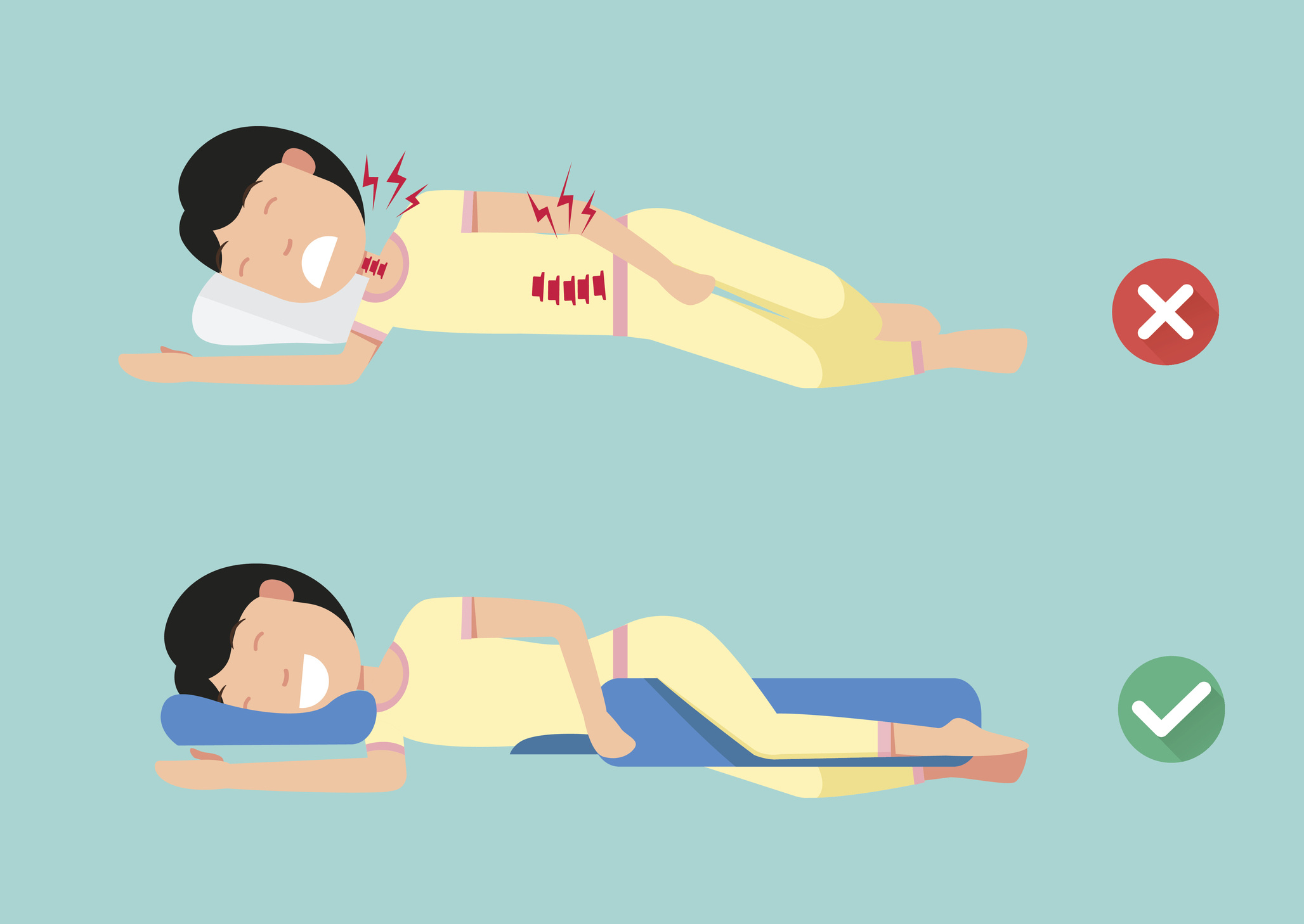 hogyan lehet lefogyni alvási pozícióval
