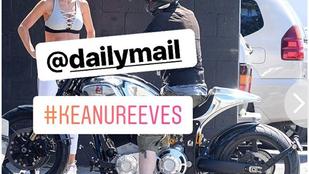Vajna Tímea sportmelltartóban beszélgetett Keanu Reeves-szel, amiről be is számolt a Daily Mail