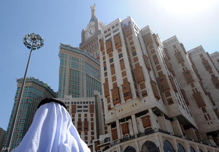 Az Abrádzs al-Bajt Hotel Mekkában