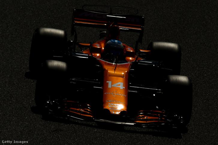 Alonso a Spanyol Nagydíjon