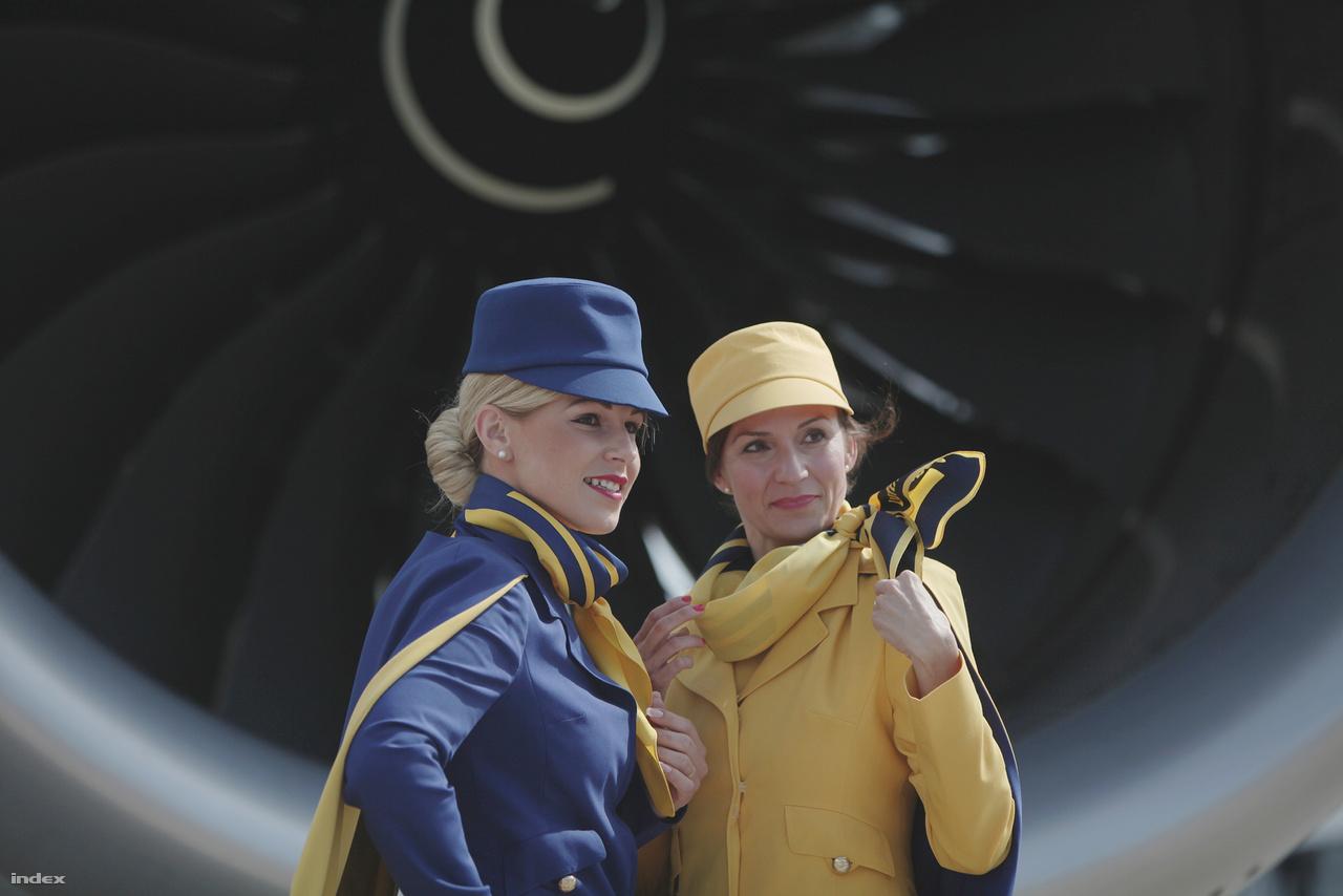 Ünneplőben: a Lufthansa 50 évvel ezelőtt indított menetrend szerinti járatokat a közép-kelet európai régió négy városába, Belgrádba, Budapestre, Bukarestbe és Zágrábba.