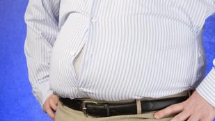 Lehet örülni: a pocakos férfiak jobbak az ágyban, mint a vékonyak