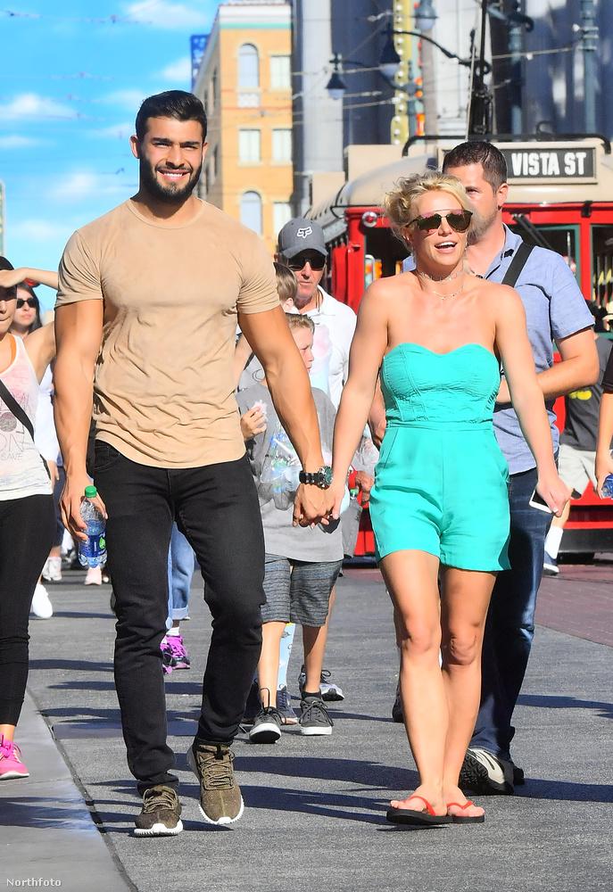 Britney Spears és szerelme, Sam Asghari kapcsolata szépen halad előre a maga útján, aminek bizonyára mindenki örül, aki kedveli az előadóművészt