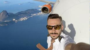 Ez a pilóta hiába állítja, hogy photoshopol, nem hisznek neki