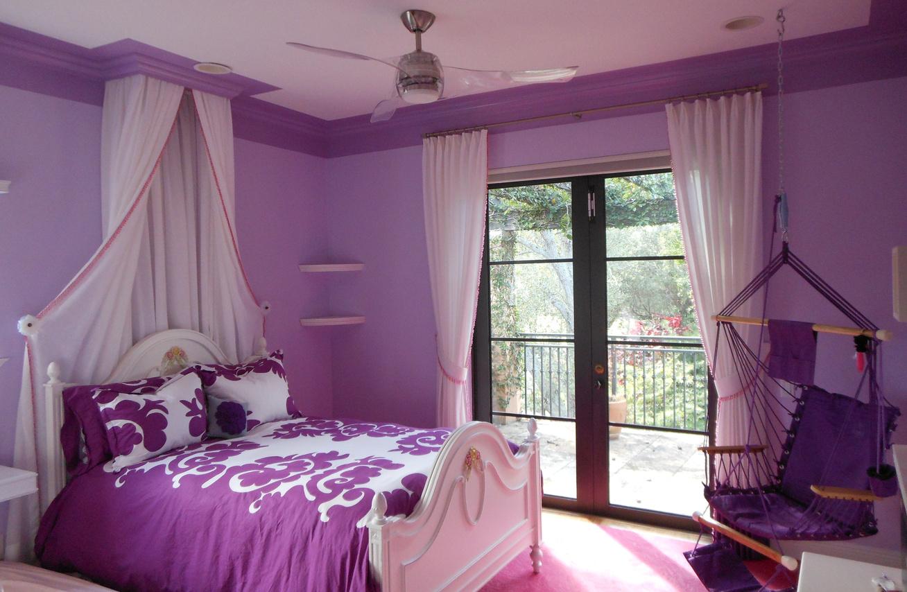 levendula hálószoba