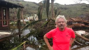 Richard Branson szigetét teljesen letarolta az Irma hurrikán