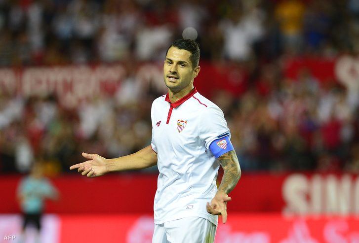 Vitolo, még a Sevilla középpályásaként