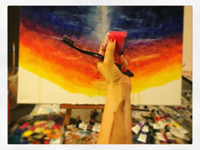 """""""Sok mindenre megtanít a festés"""