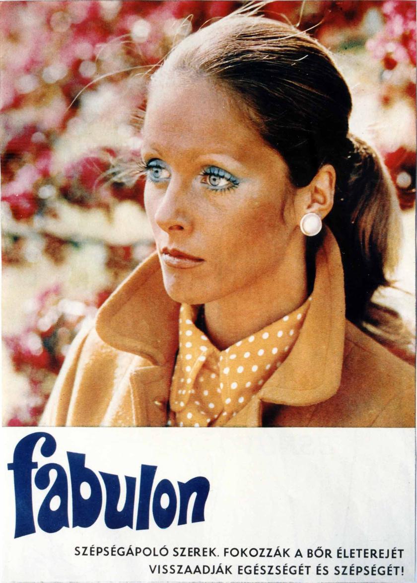 Pataki Ági neve örökre összeforrt a Fabulonéval, hiszen ő volt a márka leghíresebb reklámarca két évtizeden át.