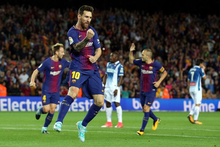 Messi is betalált Buffonnak