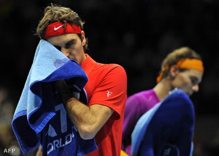Nadal és Federer az ATP döntőjében