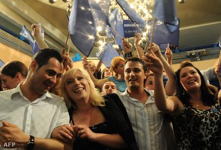 Iveta Radicová ünnepe a nyáron zajlott választások idején