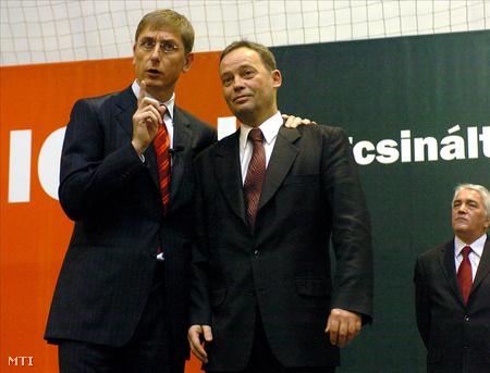Gyurcsány és Szanyi 2006-ban még együtt