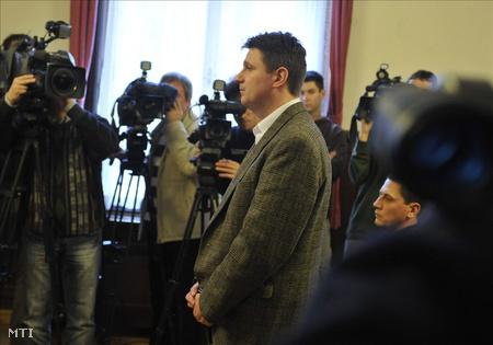 Az utolsó szó jogán sajnálatát fejezi ki Weiszdorn (Fotó: Beliczay László)