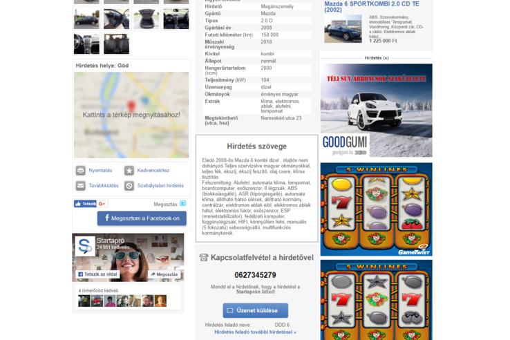 aki pénzt keresett egy autóért)