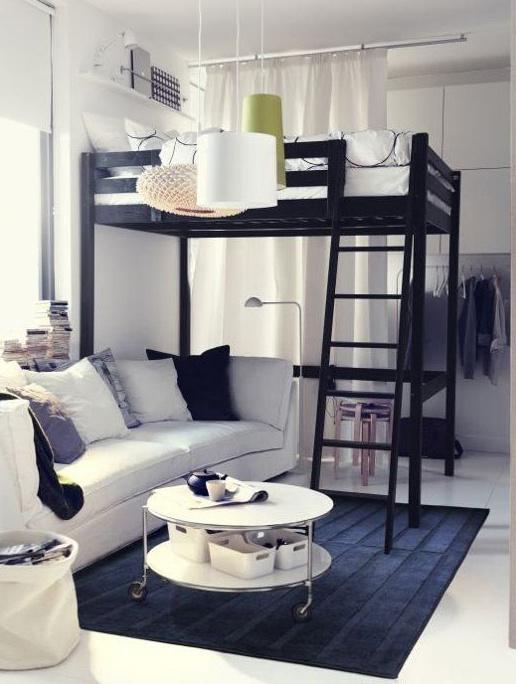 Nappali és hálószoba egyben: 10 ötletes megoldás kis helyen ...