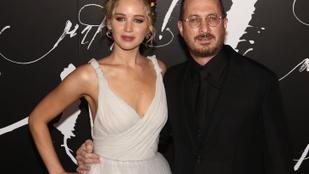 Jennifer Lawrence és 21 évvel idősebb szerelme végre összefogódzkodtak