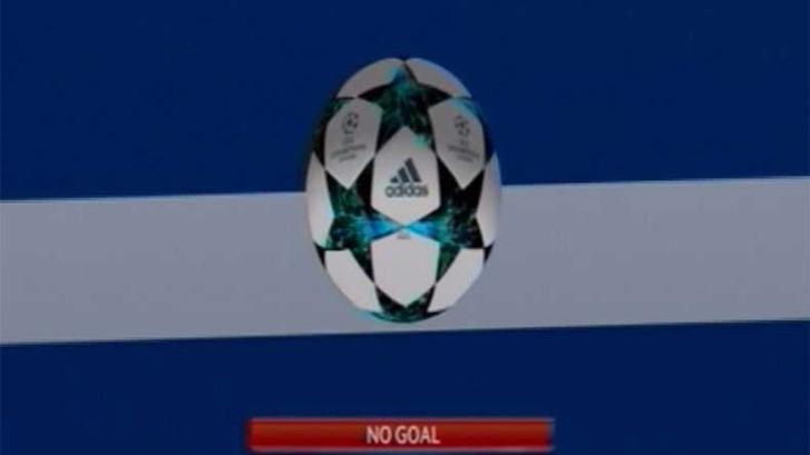 C. Ronaldo lövése a gólkamera szerint