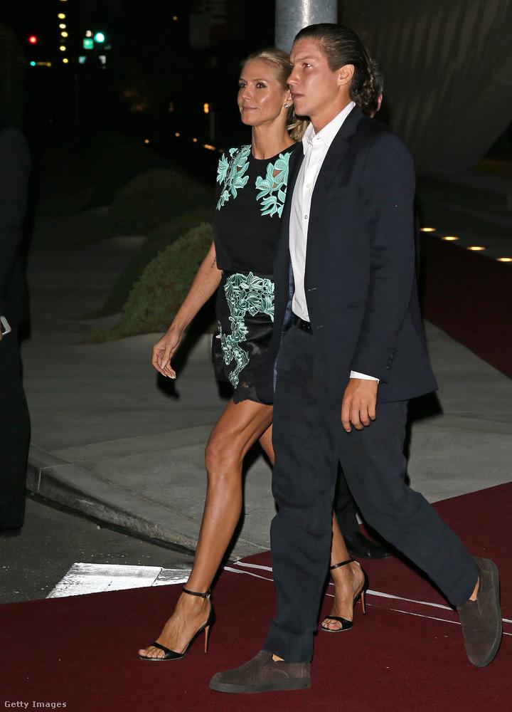 """A People írja, hogy Heidi Klum szupermodell és szerelme, Vito Schnabel műkereskedő szüneteltetik a kapcsolatukat.""""Pillanatnyilag külön töltenek időt"""