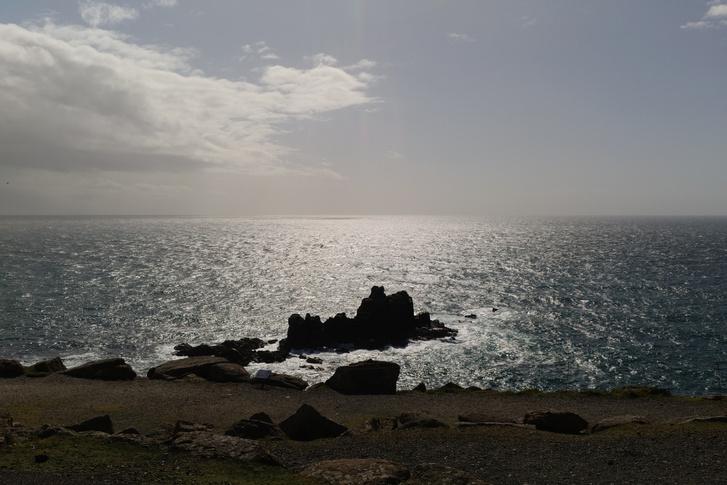 víznek feszülő szikla