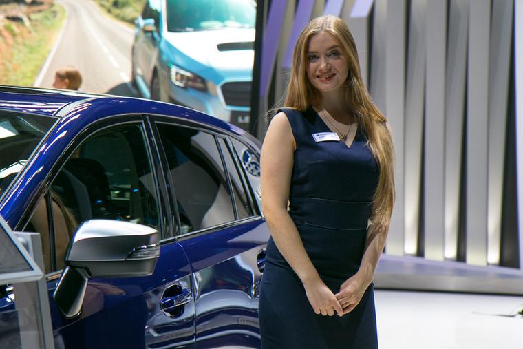 Ez a kék észveszejtő: mintha szemszín alapján válogatott volna a Subaru
