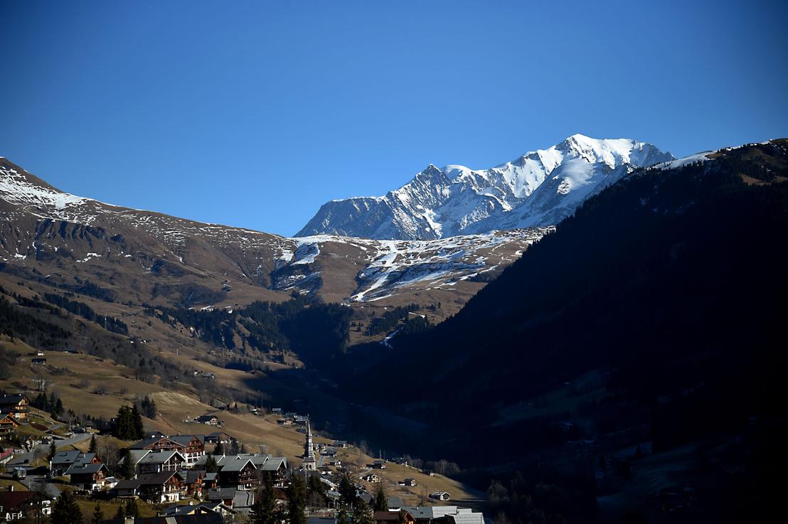 A Mont Blanc