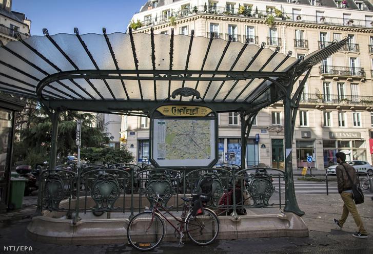 A támadás a Chatelet metróállomáson történt