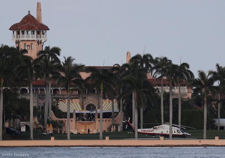 Az amerikai elnök privát floridai luxusklubja, a híres Mar-a-Lago