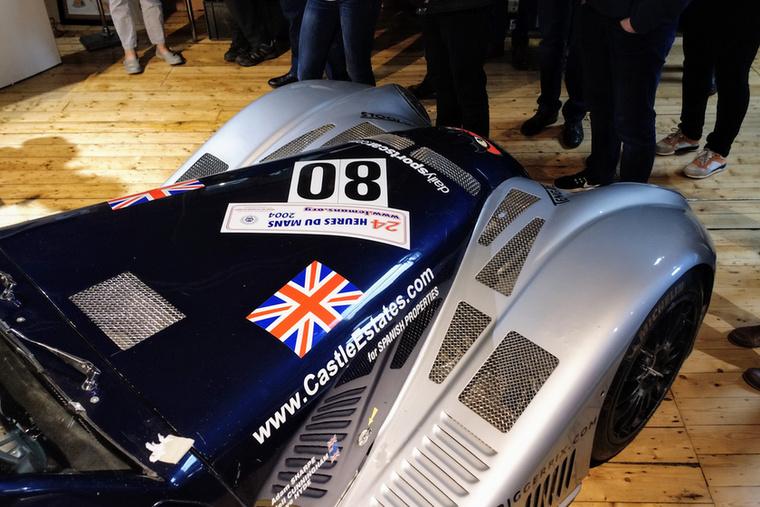Az Aero 8 nem viccel, igazi GT3-as versenyautó is van belőle