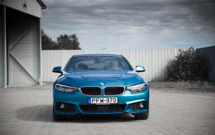 BMW-nómenklatúra szerint ez volna az F30-as 3-as sorozat kétajtós kupéja, az F32