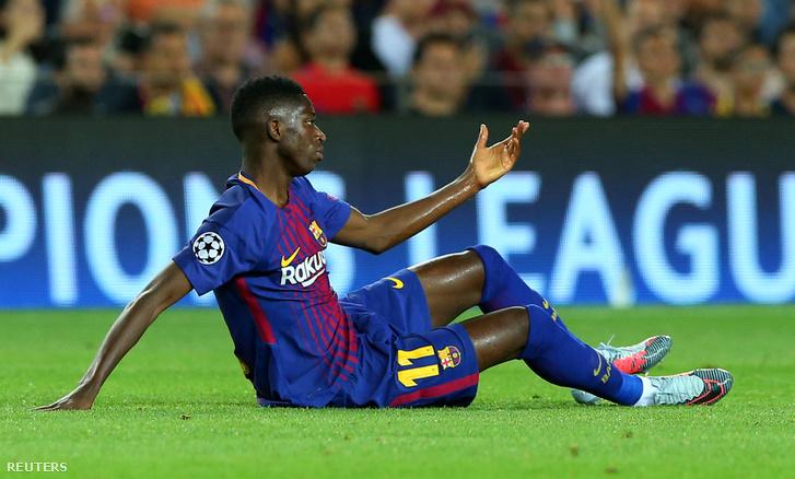 Ousmane Dembéle a Juventus elleni szeptember 12-ei meccsen