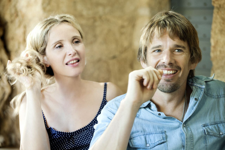 Julie Delpy és Ethan Hawke a Mielőtt éjfél üt az óra című filmben