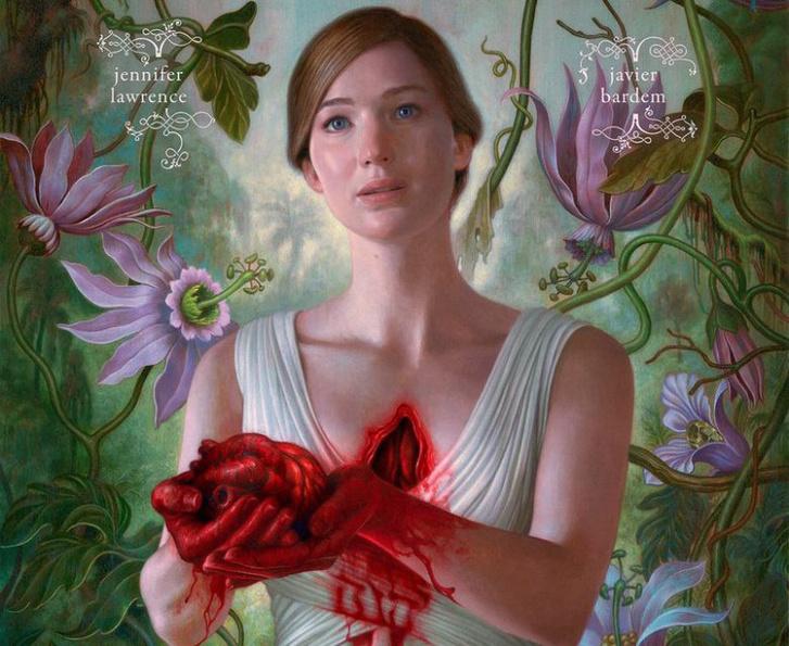 Jennifer Lawrence az anyám! poszterén