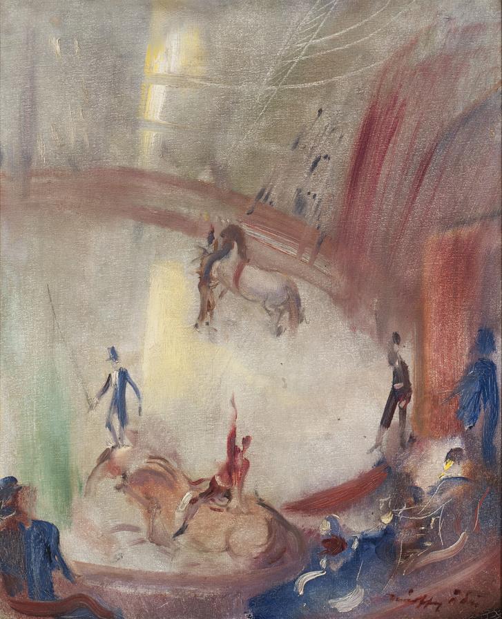 Márffy Ödön(1878-1959) Cirkusz