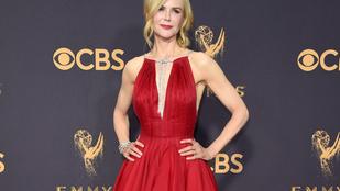 Nicole Kidman a férje előtt smárolt az Emmyn, de nem ez volt az egyetlen furcsa dolga idén