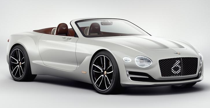 Az EXP 12 Speed 6e néven futó tanulmány. Akár ilyen is lehet a Bentley villanyautója